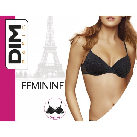 BRA PUSH UP POL.48% PO.45% EL.7% FEMININE