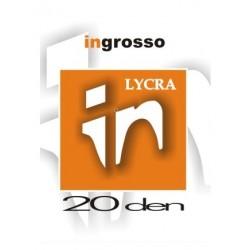 ΣΕΤ 2ΖΕΥ. ΤΡΟΥΑΚΑΡ ΓΥΝ. 20DEN 17%LYCRA.83%POLYAMIDE