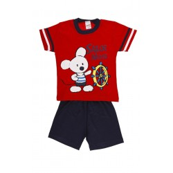 ΠYZ.BABY SAILOR MOUSE 100%COTTON