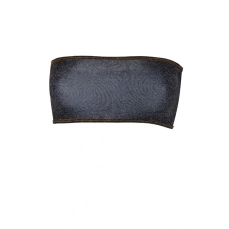 BUSTO STRAPLESS JEAN ALL OVER